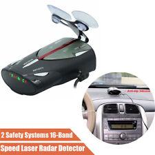 "1.5"" LED Screen 16-Band 12V Auto Car Speed GPS Laser Voice Alert Radar Detector"