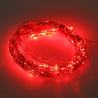 20-200LED Solar / Battery Powered Outdoor Xmas LED Fairy Lights String Party X#R