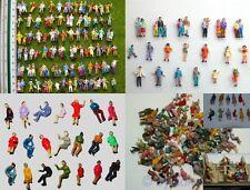 F4+F32 H0 Sortiment 200 Figurines debout + assis Set De Bracelet pour Leur Usine