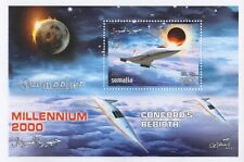 CONCORD'S REBIRTH SOMALIA 2001 MILLENIUM 2000 MNH STAMP SHEETLET