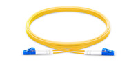 Lot of 10 LC - LC Duplex Fiber Patch Cable Singlemode, 9/125 OS2 Patch cord-9870