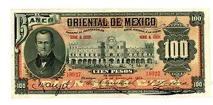Mexico/Puebla … P-S385c … 100 Pesos … 3-Ene-1914 … *XF+*
