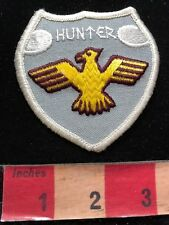 Vintage HUNTER Patch - Featuring A Phoenix / Thunderbird Type Bird 00M1