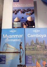 Guia Lonely Planet Myanmar Edición 2012+ Camboya Edición 2013+ Vietman Ed 2010