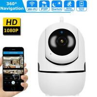 Wireless 1080P Pan/Tilt IP Security Camera Network CCTV Night Vision WiFi Webcam