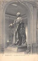 CPA 33 BORDEAUX STATUE LOUIS XVI