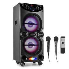 More details for fenton 178.425 live2104 karaoke station on wheels 2x 10