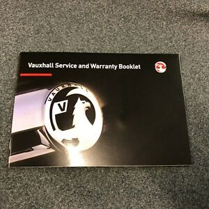VAUXHALL SERVICE BOOK CORSA ENERGY GRIFFIN ECO FLEX i Not Owners Handbook Manual