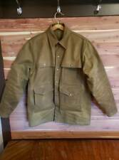 Filson Tin Cloth Cruiser Jacket Mens Sz 40