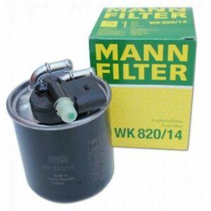 MANN-Filter  WK 820/14 Fuel Filter  for Mercedes Benz  E350 GLE350 R350 Sprinter