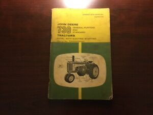 John Deere 730 General Purpose and Standard Diesel Tractor Operators Manual