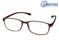 Braun Hell Lesebrille Brille Brillen Lesebrillen Lang Gesichtet RG011