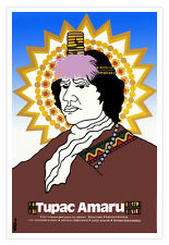 Movie Poster for Peru film.TUPAC AMARU Inca Chief.Peruvian hero.School.History