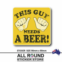 FUNNY BEER-Sticker--Decal,-Car-Sticker,-man-cave-sticker