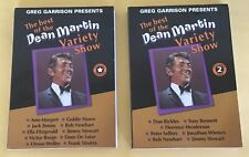 The Best Of The Dean Martin Variety Show Special Edition & Volume Two DVD's
