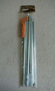 Vango Adjustable Canopy Awning Extension King Poles set 180cm - 210cm