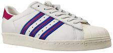 ADIDAS ORIGINALS superstar 80s cortos zapatillas de cuero blanco ba8614 talla 39 nuevo