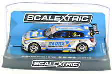 "Scalextric ""Gardox"" BMW 125 1 Series BTCC PCR DPR W/ Lights 1/32 Slot Car C3862"