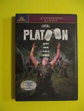 Platoon Oliver Stone War Vietnam Excellent Dvd