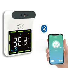 Wall Mounted Bluetooth Forehead Infrared Thermometer Cf Temperature Meter Us