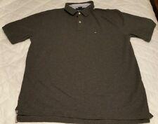 Tommy Hilfiger Golf Casual Polo Shirt Dark Gray Grey /Charcoal XXL 2XL