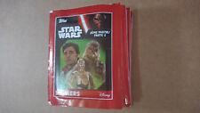 TOPPS - STAR WARS LE REVEIL DE LA FORCE (Sticker) - 10 POCHETTES NEUVE PARTIE 2