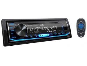 JVC KD-X462BT SPOTIFY BLUETOOTH USB AUX INPUT DIGITAL MEDIA RECEIVER (NO CD)