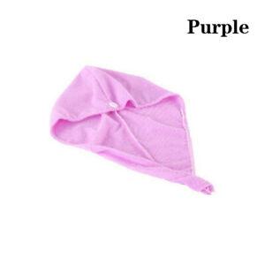 Dry Hair Towel Turban Hair Wrap Quick Dry Bath Cap Magic Hat Microfiber