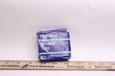 Highland Invisible Tape 34 X 1000 6200