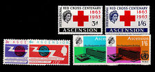 Elizabeth II (1952-Now) Multiple Ascension Island Stamps