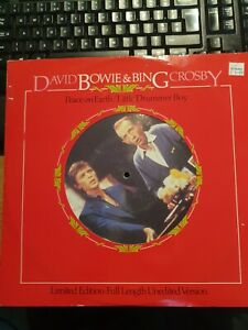DAVID BOWIE & BING CROSBY PEACE ON EARTH/LITTLE DRUMMER BOY LIMITED EDITION 12""