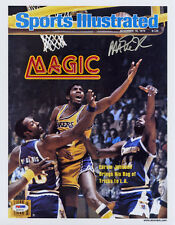 e26eca2b704 Magic Johnson SIGNED Sports Illustrated Print Lakers ITP PSA DNA AUTOGRAPHED