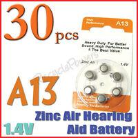 30 A13 13 PR48 7000ZD 1.4V Zinc Air Hearing Aid Battery