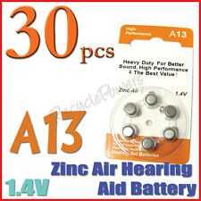 30 A13 13 PR48 7000ZD 1.4V Zinc Air Hearing Aid Battery