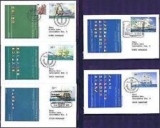 BRD 2005: Segelschiffe! Jugendmarken-FDC der Nr. 2464-2468! Gelaufen! 159
