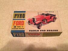 Pyro Table Top Series Model Kit, '30 Ford Model A Custom Pickup