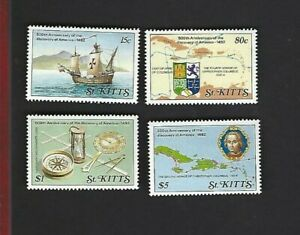 St. Kitts sc#269-72 (1989) Complete MNH