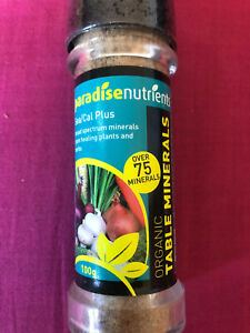Paradise Nutrients Table Minerals Sea/Cal Plus 100g