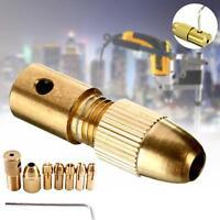 8PCS 0.5-3mm Small Hand Electric Drill Collet Set Micro Twist Chuck Tool Set MT