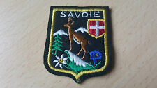 insigne tissu blason Savoie.