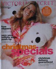 GISELE BUNDCHEN Christmas Specials 2006 VICTORIA'S SECRET Catalog