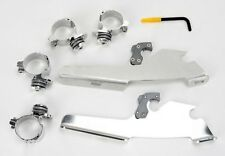 Trigger-Lock Mount Kit- Fats/Slim Windshields/Batwing Fairing Polished MEM8977