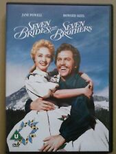 SEVEN BRIDES FOR SEVEN BROTHERS ~ MGM Musical DVD - Howard Keel Jane Powell VG+