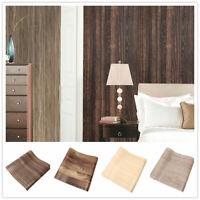 10M Wood Textured Wallpaper Rolls Wall Paper Vinyl Self Adhesive Wall Sticker
