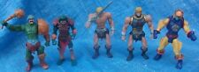 MOTU 200X Action Figure Lot He-Man Mer-Man At Arms Sy Klone Masters Of Universe
