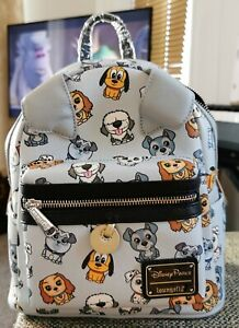 GENUINE Loungefly DISNEY PARKS DOGS Mini Backpack Max~PLUTO~Lady~TRAMP BNWT