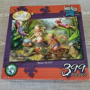 Ready Set Go Puzzle by Serendipity Fantasy Family 399 Piece NEW in Box