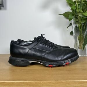 Mens CALLAWAY GOLF CG COLLECTION XWT Xtra Width Leather Shoes - Black - UK11/46