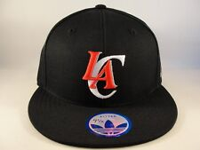 Los Angeles Clippers NBA Adidas Fitted Hat Cap Size 7 1 8 Black fea26b289764
