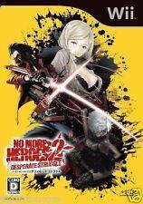 Used Wii No More Heroes 2 Nintendo JAPAN  JAPANESE JAPONAIS IMPORT